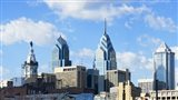 Skyscrapers in a city, Liberty Place, Philadelphia, Pennsylvania, USA