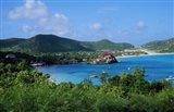 Resort setting, Saint Barth, West Indies.