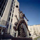Michael Jordan Statue, United Center, Chicago