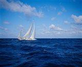 Sailboat in the Bahamas