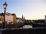 St Finbarr's Cathedral, River Lee (South Channel), Cork City, County Cork, Ireland