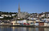 Immigrant Embarkation Harbour, Terraced Houses and St Colman's Cathedral, Cobh, County Cork, Ireland (horizontal)