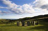 Drombeg Stone Circle, Near Glandore, County Cork, Ireland