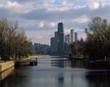 Lincoln Park Lagoon, Chicago, Cook County, Illinois