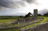Remains of the Church on St Patrick's Hill, Slane, Co Meath, Ireland