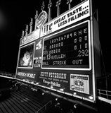 Scoreboard at U.S. Cellular Field, Chicago, Cook County, Illinois