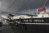 Maritime museum on a ship, Star of India, San Diego, California, USA