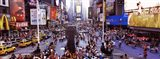 People in a city, Times Square, Manhattan, New York City, New York State, USA