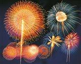 Ignited fireworks