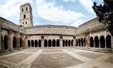 Cloister of St. Trophime, Church Of St. Trophime, Arles, Bouches-Du-Rhone, Provence-Alpes-Cote d'Azur, France