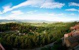 Clouds over a field, Roussillon, Vaucluse, Provence-Alpes-Cote d'Azur, France