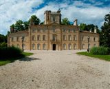 Facade of a castle, Chateau d'Avignon, Saintes-Maries-De-La-Mer, Bouches-Du-Rhone, Provence-Alpes-Cote d'Azur, France