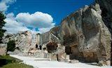 Ruins of a fortress, Les Baux-de-Provence, Bouches-Du-Rhone, Provence-Alpes-Cote d'Azur, France