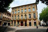 Facade of a building, Place Forbin, Cours Mirabeau, Aix-En-Provence, Bouches-Du-Rhone, Provence-Alpes-Cote d'Azur, France