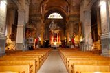 Interiors of a church, Saint Esprit Church, Aix-En-Provence, Bouches-Du-Rhone, Provence-Alpes-Cote d'Azur, France