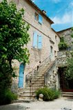 Staircase of an old house, Lacoste, Vaucluse, Provence-Alpes-Cote d'Azur, France