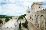 Palace in a city, Notre-Dame Des Domes, Le Palais des Papes, Palais Des Papes,  Provence-Alpes-Cote d'Azur, France