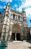 Facade of a church, Place Saint Pierre, Avignon, Vaucluse, Provence-Alpes-Cote d'Azur, France
