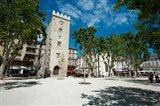 Buildings in a town, Place Saint-Jean le Vieux, Avignon, Vaucluse, Provence-Alpes-Cote d'Azur, France