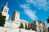 Cathedrale Notre-Dame des Doms d'Avignon, Palais des Papes, Avignon, Vaucluse, Provence-Alpes-Cote d'Azur, France