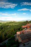 Buildings in a town, Roussillon, Vaucluse, Provence-Alpes-Cote d'Azur, France