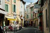 Buildings along a street, Rue Porte de Laure, Arles, Bouches-Du-Rhone, Provence-Alpes-Cote d'Azur, France