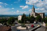 High angle view of a church, Bonnieux, Vaucluse, Provence-Alpes-Cote d'Azur, France