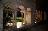 Cloister of ancient Monastere Saint-Paul-De-Mausole, St.-Remy-De-Provence, Bouches-Du-Rhone, Provence-Alpes-Cote d'Azur, France