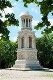 Roman mausoleum at Glanum, St.-Remy-De-Provence, Bouches-Du-Rhone, Provence-Alpes-Cote d'Azur, France