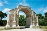 Roman triumphal arch at Glanum, St.-Remy-De-Provence, Bouches-Du-Rhone, Provence-Alpes-Cote d'Azur, France