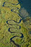 Aerial view of a stream, Park City, Utah, USA