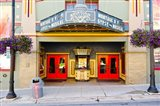 Facade of the Egyptian Theater, Main Street, Park City, Utah, USA