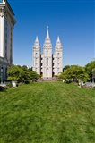 Mormon Temple, Temple Square, Salt Lake City, Utah