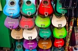 Colorful Guitars, Downtown Los Angeles