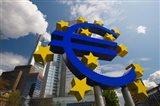 Euro Sign, Frankfurt, Germany (horizontal)