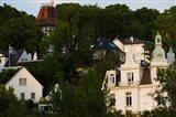 Villas on a hill, Blankenese, Hamburg, Germany