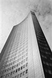 Low angle view of a building, City-Hochhaus, Leipzig, Saxony, Germany