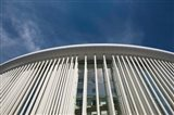 Low angle view of a concert hall, Philharmonie Luxembourg, Kirchberg Plateau, Luxembourg City, Luxembourg