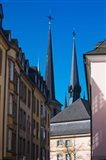 Church in the city, Notre Dame Cathedral, Luxembourg City, Luxembourg