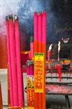 Memorial incenses, Mingshan, Fengdu Ghost City, Fengdu, Yangtze River, Chongqing Province, China
