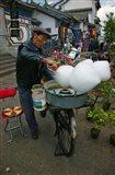 Candy Floss Vendor, Old Town, Dali, Yunnan Province, China