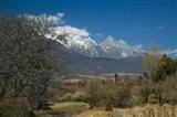 Jade Dragon Snow Mountain viewed from Baisha, Lijiang, Yunnan Province, China