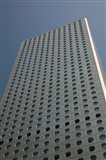 Low angle view of a building, Jardine House, Central District, Hong Kong Island, Hong Kong