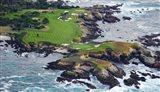Golf Course on an Island, Pebble Beach Golf Links, California