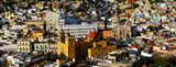 High angle view of a city, Basilica of Our Lady of Guanajuato, University of Guanajuato, Guanajuato, Mexico