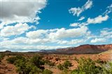 Clouds over an arid landscape, Capitol Reef National Park, Utah