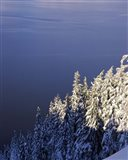 Winter at South Rim, Crater Lake National Park, Oregon