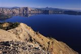 Crater Lake, Garfield Peak, Crater Lake National Park, Oregon, USA