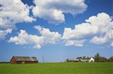 Farmhouse in a field, Loksa, Lahemaa National Park, Tallinn, Estonia