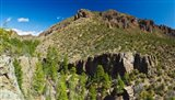 Panorama of Dome Wilderness, San Miguel Mountains, Santa Fe National Forest, New Mexico, USA